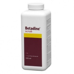 Betadine Scub 500ml ORIGINAL